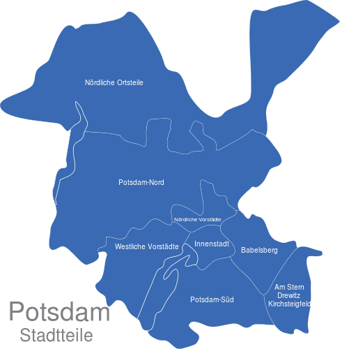 Potsdam Stadtbezirke