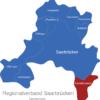 Map Regionalverband Saarbrücken Klein-blittersdorf