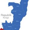 Map Republik Kongo Provinzen Kouilou