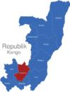 Map Republik Kongo Provinzen Lekoumou_1_