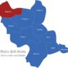 Map Rhein Erft Kreis Bedburg