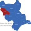 Map Rhein Erft Kreis Elsdorf