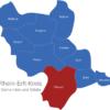 Map Rhein Erft Kreis Erftstadt
