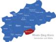 Map Rhein Sieg Kreis Bad_Honnef