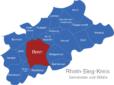 Map Rhein Sieg Kreis Bonn