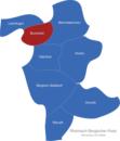 Map Rheinisch Bergischer Kreis Burscheid