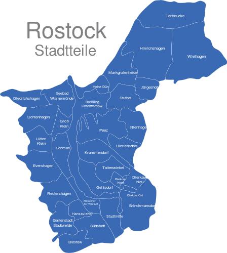 Rostock Stadtteile