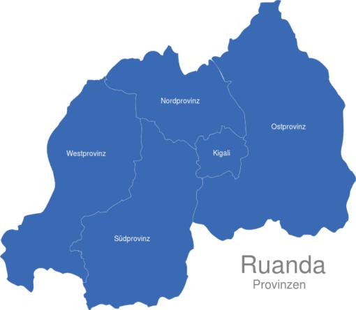 Ruanda Provinzen