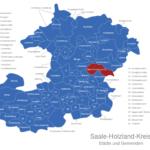 Map Saale Holzland Kreis Bad_Klosterlausnitz