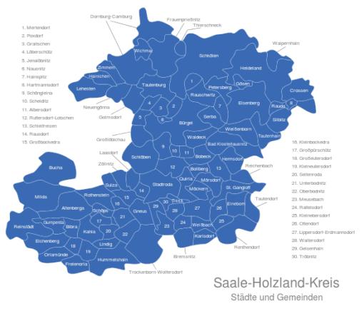 Saale Holzland Kreis