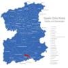 Map Saale Orla Kreis Birkenhügel