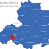 Map Saalekreis Barnstädt
