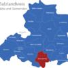 Map Saalekreis Braunsbedra