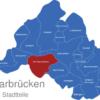 Map Saarbrücken Stadtteile Alt-Saarbrücken