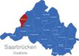 Map Saarbrücken Stadtteile Altenkessel