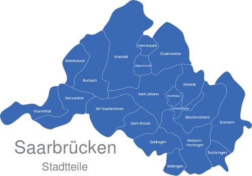 Saarbrücken Stadtteile
