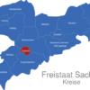 Map Sachsen Landkreise Chemnitz
