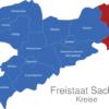 Map Sachsen Landkreise Gorlitz_1_