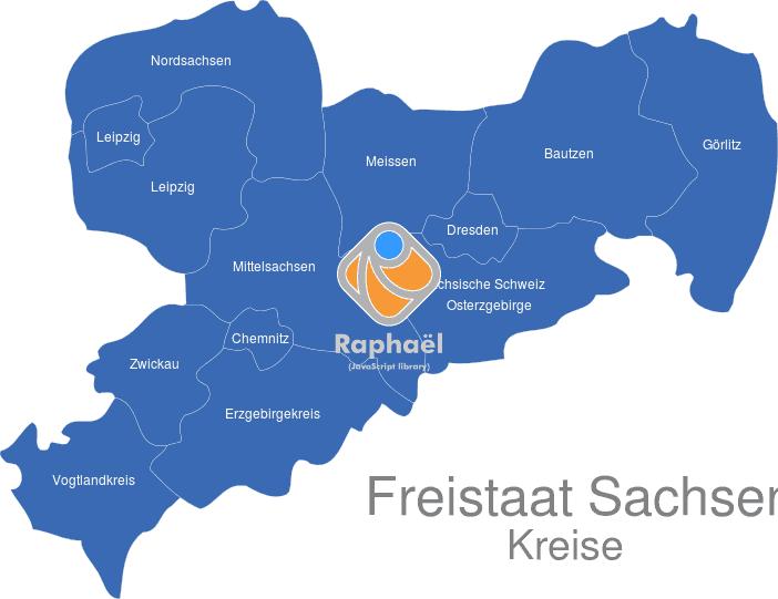 Sachsen Landkreise Interaktive Landkarte Image Maps De