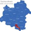 Map Salzlandkreis Alsleben