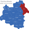 Map Salzlandkreis Barby