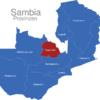 Map Sambia Provinzen Copperbelt