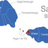 Map Samoa Bezirke Aiga-i-le-Tai