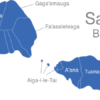 Map Samoa Bezirke Atua
