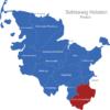 Map Schleswig Holstein Kreise Herzogtum_Lauenburg