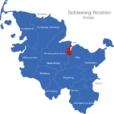 Map Schleswig Holstein Kreise Kiel