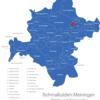 Map Schmalkalden Meiningen Altersbach