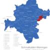 Map Schmalkalden Meiningen Benshausen