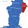 Map Schwaben Landkreise Aichach_Friedberg