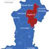 Map Schwaben Landkreise Augsburg