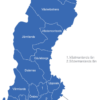 Map Schweden Provinzen Gotlands