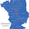 Map Schwerin Stadtteile Altstadt