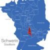 Map Schwerin Stadtteile Gartenstadt