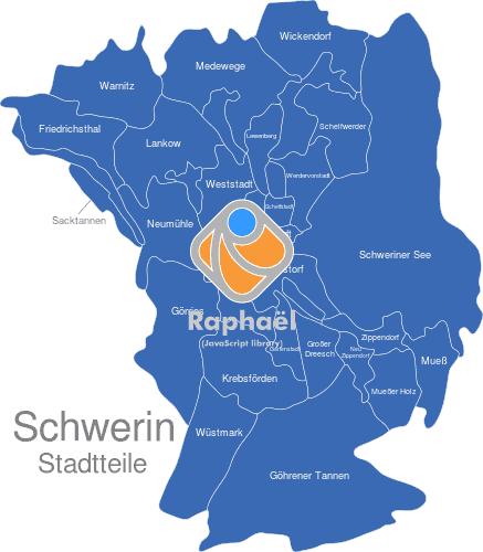 Potsdam Karte Stadtteile.Schwerin Stadtteile