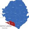 Map Sierra Leone Distrikte Bonthe
