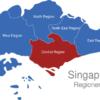 Map Singapur Regionen Central_Region