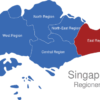 Map Singapur Regionen East_Region