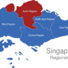 Map Singapur Regionen North_Region