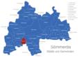 Map Sömmerda Alperstedt