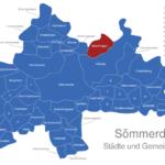 Map Sömmerda Beichlingen
