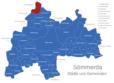 Map Sömmerda Bilzingsleben