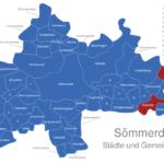 Map Sömmerda Buttstädt