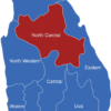 Map Sri Lanka Provinzen North_Central