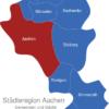 Map Städteregion Aachen Aachen
