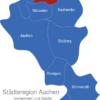 Map Städteregion Aachen Alsdorf