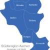 Map Städteregion Aachen Baesweiler